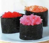 Гекка суши - тобико гунканмаки