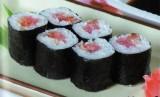 Хосомаки ролл с тунцом и лососем