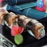 Саимаки ролл с угрем и лососем