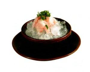 Кава судзуки ари (сашими с окунем)