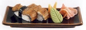 Унаги кабаяки нигири (суши с угрем)